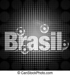 brasil, fekete, kreatív, tervezés, finomság, háttér