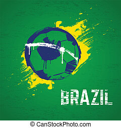 brasil, futebol, fundo