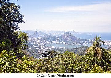 brasil, janeiro, de, -, río, otro, vista