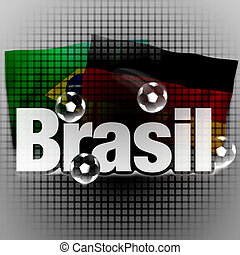 brasil, kreatív, tervezés, finomság, háttér