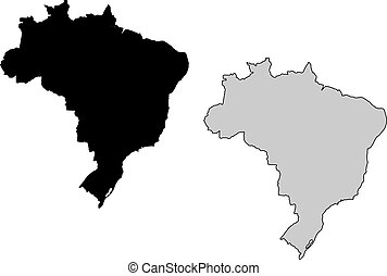 brasil, mapa