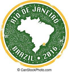 brasil, río de janeiro, 2016