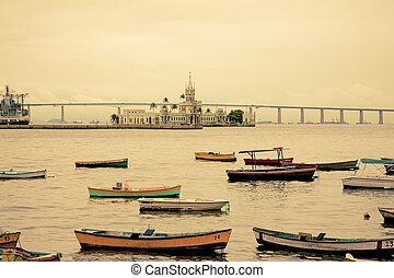 brasil, río, de, puerto, janeiro