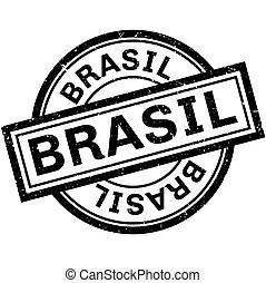 Brasil rubber stamp