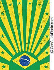 brasil, vindima, fundo