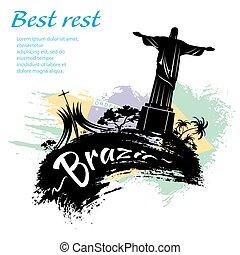 brasile, viaggiare, grunge, stile