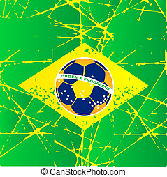 Brasilia football world cup symbol