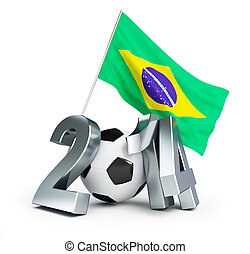 brasilien, fodbold