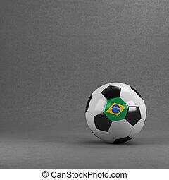 brasilien, fotboll bal