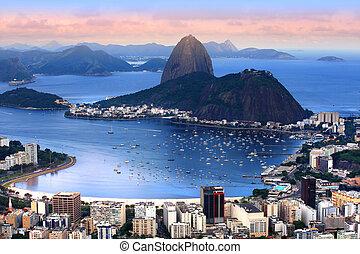 brasilien, rio af janeiro, landskab