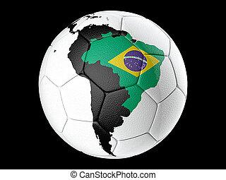 brasilien, soccer bold