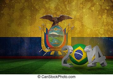 brasilien, welt schale, 2014