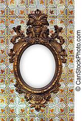 Brass Baroque Frame