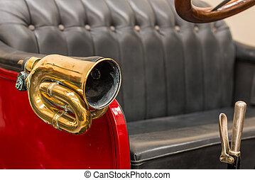 Brass Car Horn