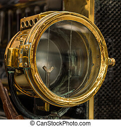 Brass Head Lamp