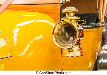 Brass Side Head Lamp