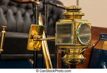 Brass Vintage Light