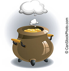 brasser, pot