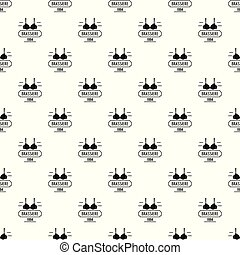 Brassiere pattern vector seamless repeat for any web design
