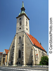 bratislava, 14., century), heilige, mehlschwalbe, slovaki, kathedrale, (built