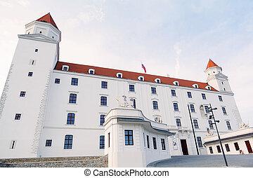 Bratislava castle. Capital city. - Bratislava castle....