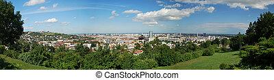 Bratislava City - Panorama of Bratislava the capital city of...
