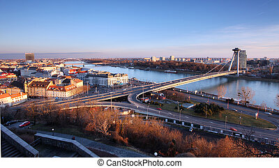 Bratislava from castle