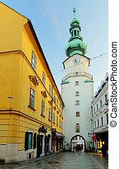 Bratislava - Michael Tower (Michalska Brana), Slovakia....