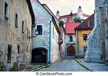 Bratislava old town - Street of Bratislava old town....