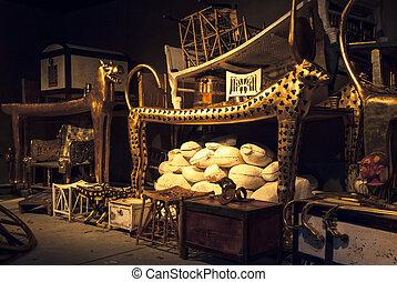 Tutankhamun's tomb - BRATISLAVA, SLOVAKIA - DECEMBER 14:...