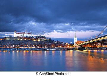 Image of Bratislava, the capital city of Slovakia.