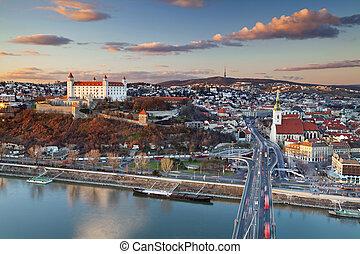 Bratislava, Slovakia. - Image of Bratislava, the capital ...