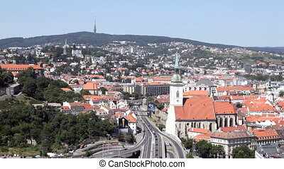 BRATISLAVA, SLOVAKIA-JULY 27: View of the old castle in Bratislava, Slovakia, July 27, 2013. Bratislava is the only capital of the world which directly borders on two other states ? Austria and Hungary.