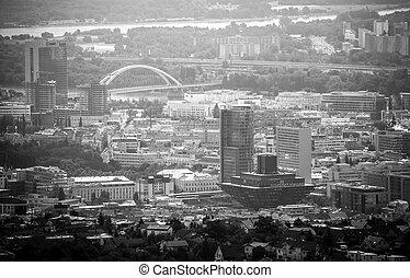 Bratislava, Slovakia - BRATISLAVA, SLOVAKIA - JUN 28: Centre...
