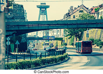 Bratislava, Slovakia - BRATISLAVA, SLOVAKIA - JUN 28:...