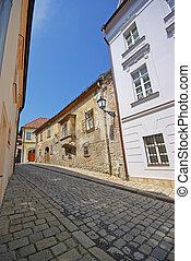Bratislava street in old town
