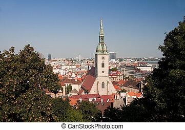 Bratislava,the capital of Slovakia