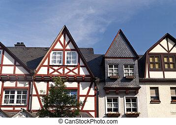 Braubach at the Rhine