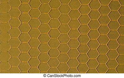 Braun hexagonal background