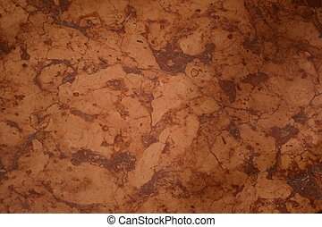 braune Mamorplatte - braun gemusterter Marmor