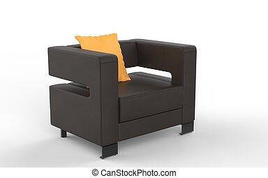 inneneinrichtung sessel modern gelber clipart suche illustration zeichnung und vektor eps. Black Bedroom Furniture Sets. Home Design Ideas