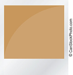 brauner, weißes, freigestellt, foto