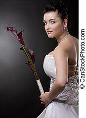 braut darin, kleid heiraten