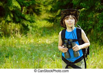 brave boy scout