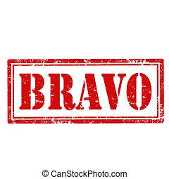 Bravo-stamp