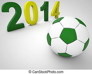 brazília, 2014, futball, bajnokság