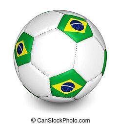 brazília, 2014, labdarúgás, világbajnokság, focilabda