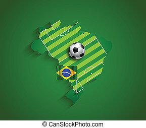 brazília, 2014, világbajnokság, ország, vendéglátó, bemutatás