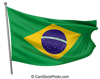 brazília, nemzeti lobogó