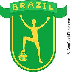 brazília, szalag